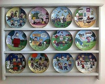 Danbury Mint Peanuts Plates