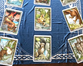 Druid Animal Oracle Reading- Awen Spread