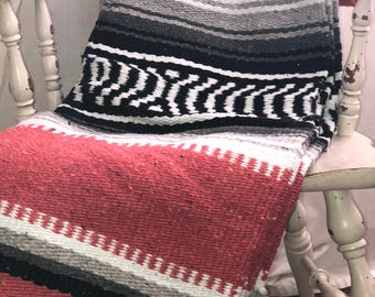 Mexican Blanket Etsy