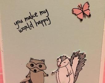 You Make My World Happy