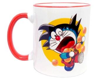 Magic Monkey-DORAEKU Cup-original design-Red border