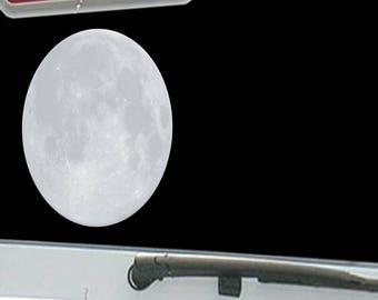 Full Moon Astrology Night Sky Stars Reflecting