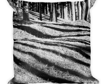 Forest Shadow Pillow Square Pillow