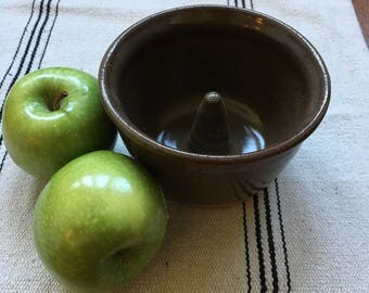 Stoneware apple baker/ bloomin onion baker