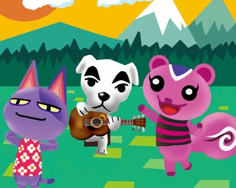 Animal Crossing Illustrations
