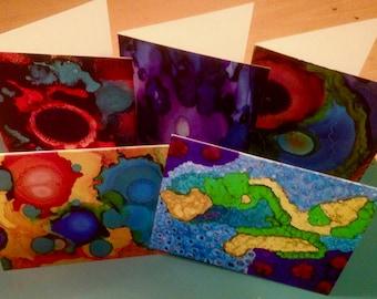 Original Art Greeting Cards