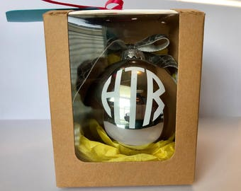 Monogram Glass Bulbs