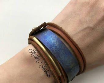 Bracelet, titanium bracelet, female bracelet with titanium.