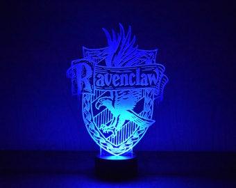 Harry Potter Inspired Ravenclaw LED Lamp