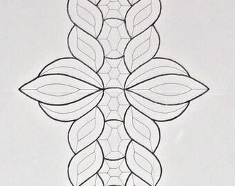 Stunning 42-Piece Beveled Glass Cluster