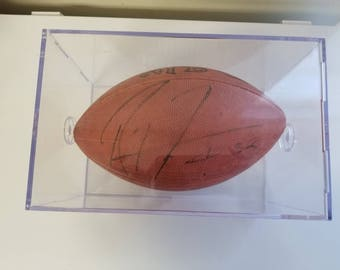 Ray Lewis of the Baltimore Ravens signed NFL original kick off football