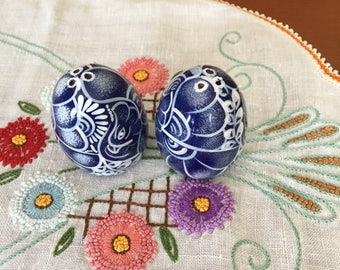 EGGCELLENT Eggs Salt and Pepper Shakers vintage EASTER DECOR