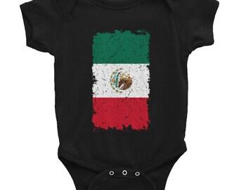 Mexican flag Bodysuit