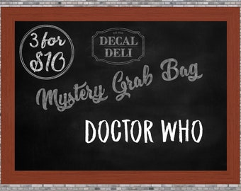 Doctor Who Decal Mystery Bag