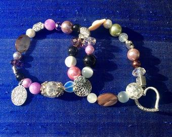 Duo of Beaded Bracelets