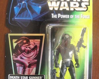 Star Wars The Power of the Force Death Star GUNNER Action Figure - NEW - Kenner
