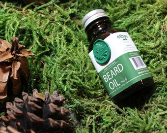 Beard Oil No 8. Natural 1 Oz Handcrafted With Wax Seal.