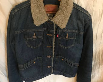 Vintage Quilted Levi's Jacket