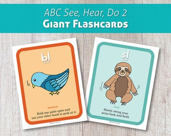 ABC See, Hear, Do 2 Giant Flashcards