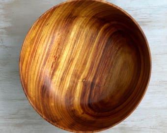 """8"""" Canarywood Bowl"""