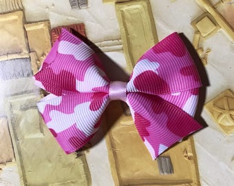 Pink hair bow beautiful cute baby girl gift birthday party babyangelwithlove back to school