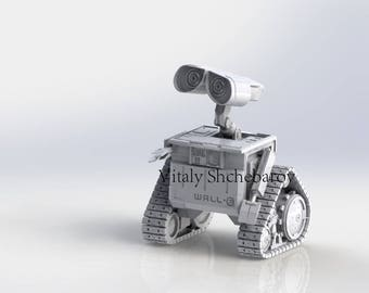 wall-e robot . only a 3D model.(STL Files for 3d Printing)