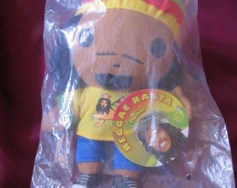 Bob Marley Reggae Rasta Plush