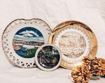 Vintage Oregon Collector's Plates