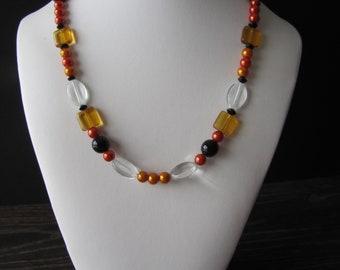 Necklace Orange / Orange Necklace