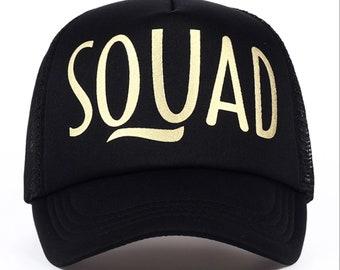 Custom* SQUAD HAT