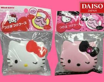 SANRIO Kitty Eyelash case, accessory case, Shipped from Japan