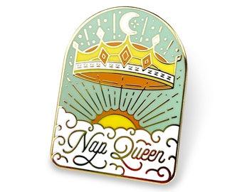 Nap Queen - Enamel Pin