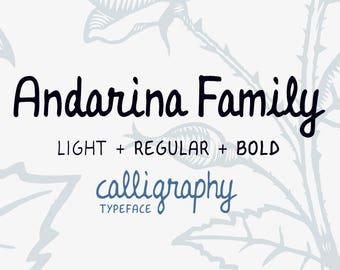 Andarina Font Family