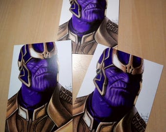 PRINT of Thanos Drawing
