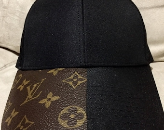 Upcycled LV hat