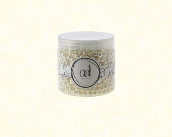 Pearls, 16 oz Small White