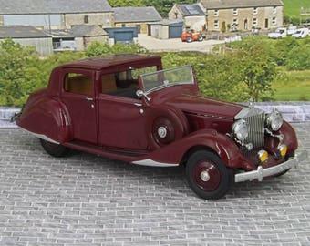 Danbury Mint 1938 Rolls-Royce Phantom 1:24 Diecast very good condition boxed