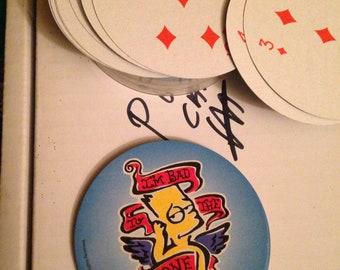 Bart simpson cards