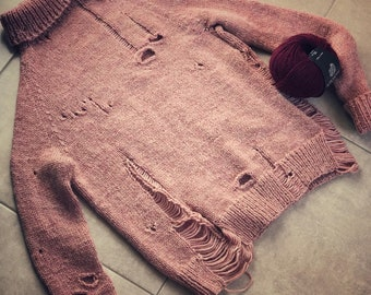 Sweater knitting