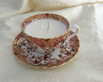 "Fenton,""Radfords"" Tea Cup Soy Candle"