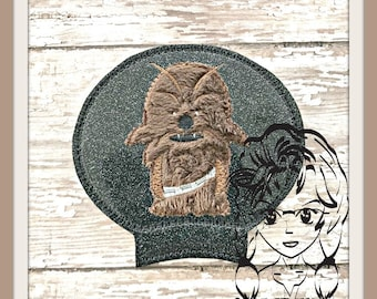 SW CHeWIE Ear (Add On Only ~ 1 Piece) ITH Mr Miss Mouse Ears Headband ~ INSTANT Machine Embroidery Download Design by Carrie