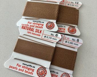 Beige Griffin Natural Silk Cord Sz 6 8 10 12