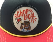 """Infant/Toddler Trucker Hat with """"Chop Local"""" ..."""