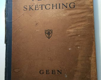 Pencil Sketching by Evelyne Geen 1948