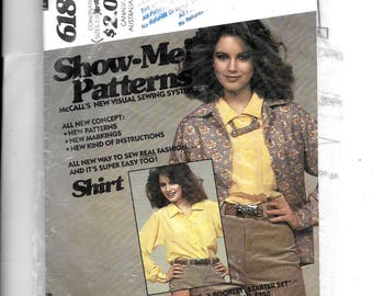 McCall's Misses' Blouse and Bow Tie Pattern 6183