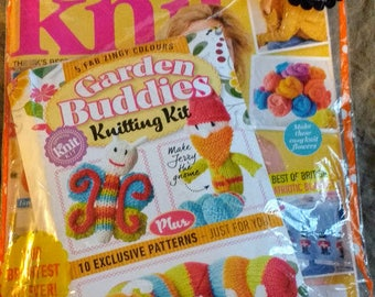 NIP Let's Knit! Magazine 106, June 2016 with free Project Packet for Kid's Toys