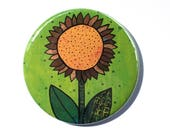 Sunflower Magnet or Sunfl...