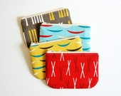 Custom Order - Coin Purse, Small Zipper Pouch, Set of 4, Jessica Jones Outside Oslo, Ready To Ship