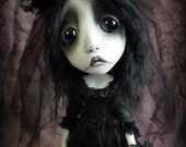 Loopy Southern Gothic Art Doll Fantasy Dark Creepy Dead Bride Morica