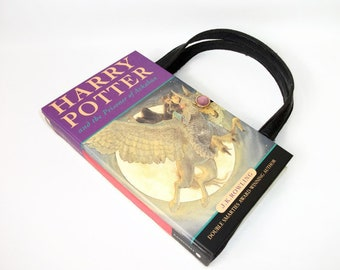 Book Purse Harry Potter Prisoner of Azkaban, Upcycled Handbag made from a book, Recycled Bag